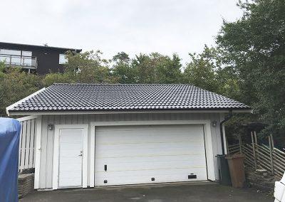 Takmålning garagetak